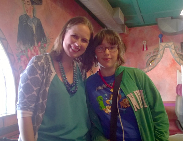 Riley and Author Melissa Meyer
