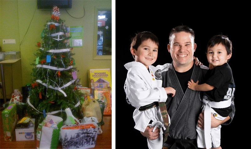Alpha Martial Arts Holiday Giving Tree