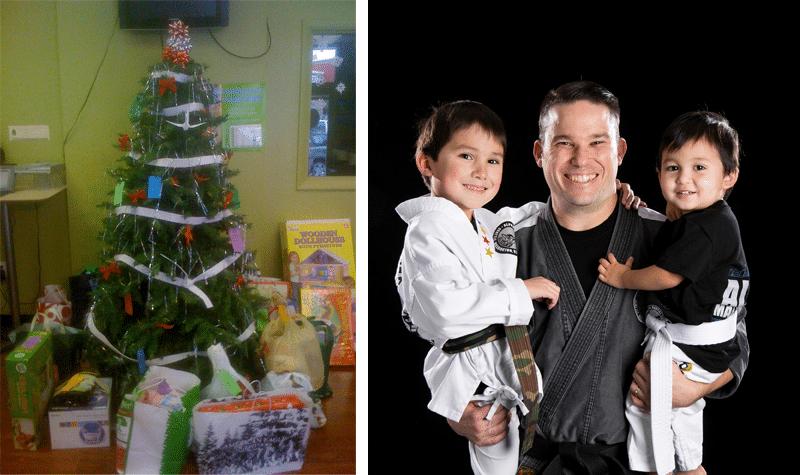 Alpha Martial Arts Holiday Giving Tree